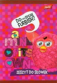 Zeszyt do słówek Furby w kratkę 16 kartek różowy-
