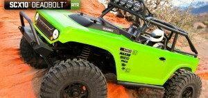 Axial SCX10 Deadbolt RTR 4WD Axial
