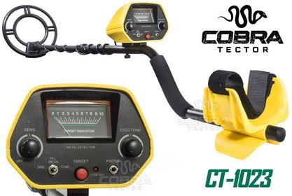 Wykrywacz metalu detektor metali Cobra Tector CT-1023