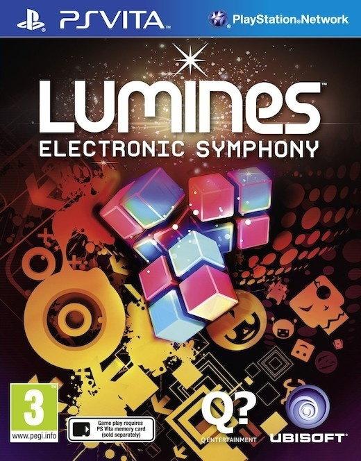 Lumines: Electronic Symphony PS Vita