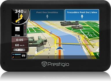Prestigio GeoVision 5050 Navitel Polska, Litwa, Łotwa, Estonia