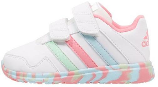 Adidas Performance SNICE 4 Obuwie treningowe white/super pop/frozen blue JZJ56