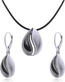 AnKa Biżuteria Komplet biżuterii srebrnej rutenowany