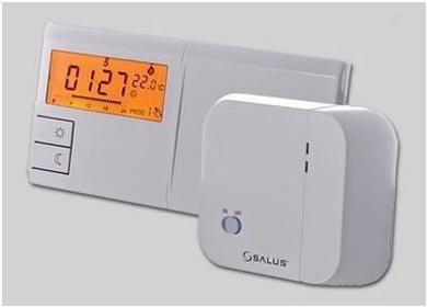 SALUS Regulator 091FLRF Bezprzewodowy programowany regulator temperatury-tygodni