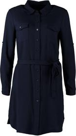 Zalando Sukienka szmizjerka niebieski ZA821E000-K11