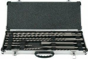 Makita zestaw i dłut SDS-Plus PC10 (metalowa walizka) D-19174