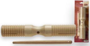 Stagg GDTB 125 L - dwutonowe guiro drewniane duże