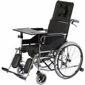 MDH Wózek inwalidzki specjalny, stabilizujący plecy i głowę z funkcją toalety VC