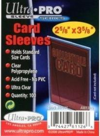 Ultra Pro Koszulki (protektory) - Card Sleeves (2 5/8x3 5/8) 100szt.