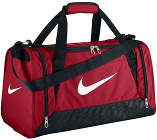 Nike Torba sportowa Brasilia 6 XSmall 27 BA4832601/CZERWONA