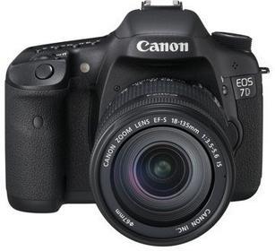 Canon EOS 7D + 18-135 kit