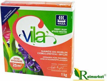 Yara Vila nawóz do roślin cebulowych i bylin 1kg