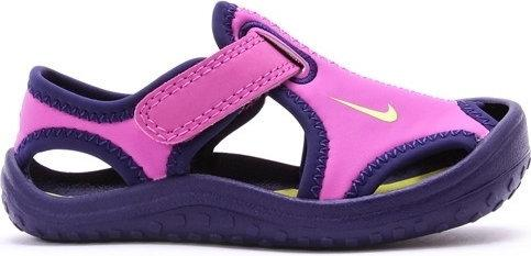 Nike BUTY SUNRAY PROTECT (TD) Fioletowy 344993 503