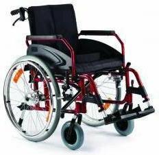 Timago Wózek inwalidzki aluminiowy TGR-R WA 163