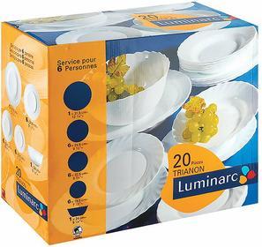 Luminarc Komplet obiadowy Trianon 20-elementowy