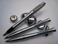 Parker Urban Pióro+Długopis+Ołówek Stalowy Srebrne