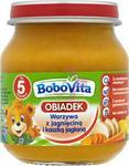 BoboVita (Nutricia) Obiadek Warzywa z jagnięciną i kaszką jaglaną po 5 miesiącu 125 g