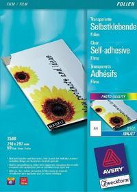 Avery FOLIE SAMOPRZYLEPNE ZWECKFORM 170 μm DO DRUKAREK ATRAMENTOWYCH 10