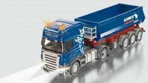 Siku Ciężarówka Scania z naczepą 6725