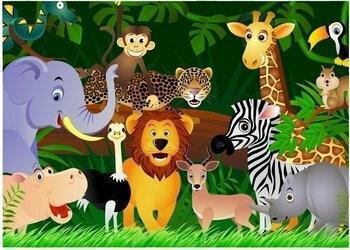 Dzikie zwierzaki - Obraz, reprodukcja