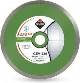 RUBI tarcza tnąca CEV PRO 230mm na mokro 25914