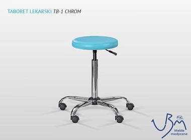 U.B.M Taboret TB-1 Chrom