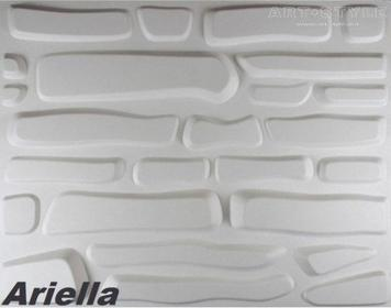 3d Elite Panels 1 m2, Panel 3D ARIELLA (80 x 62 cm)