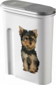 Curver Praktyczny Pojemnik na karmę dla psa Pojemność:6 kg CU-038
