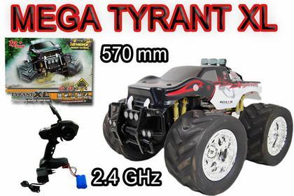 Import SUPER-TOYS TYRANT XL 570 MM off road 4X4 napęd/0755A CZERWONY 0755A-CZERW