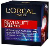 Loreal Revitalift Laser x3 Krem-maska na noc 50ml