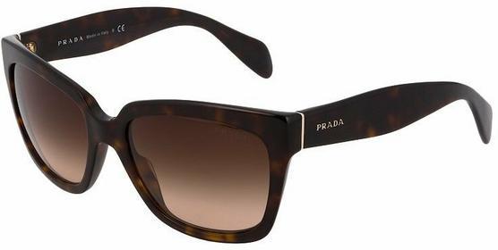 Prada Okulary przeciwsłoneczne brązowy 0PR 07PS