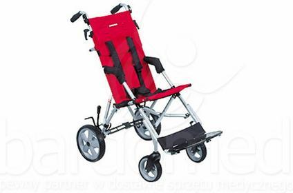 Mobilex Wózek inwalidzki dziecięcy spacerowy Patron Corzo X-Country szer. 34