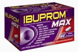 US Pharmacia Ibuprom Max 400mg 48 szt.
