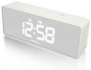 Technoline Zegar cyfrowy LED WT475 Budzik Lustro
