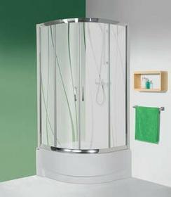 Sanplast Tx 5 90 KP4/TX5-90/165 90x90 profil biały EW szkło CR+ brodzik