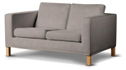 Dekoria Pokrowiec na sofę Karlanda 2-osobową nierozkładaną, krótki, sofa Karland