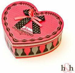 Pudełko Dear Friend / 22x17x8 cm H&H