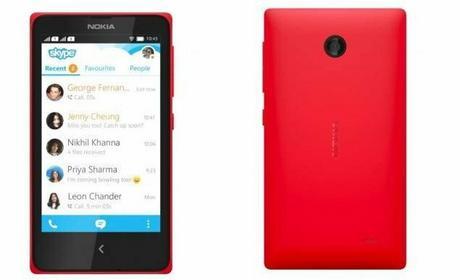 Nokia X Czerwony