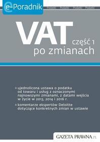 Anita Jackiewicz VAT część 1 po zmianach