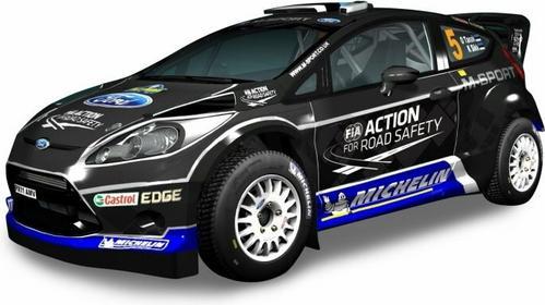 Silverlit M-Sport Ford Fiesta RS WRC S 82438