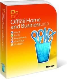Microsoft Office 2010 Home and Business - dla użytkowników domowych i małych firm PL PKC
