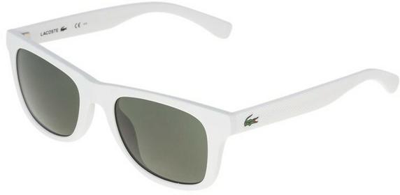Lacoste Okulary przeciwsłoneczne matt biały L790S