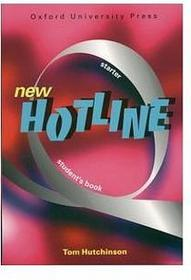 Język angielski. New Hotline. Starter. Podręcznik, gimnazjum