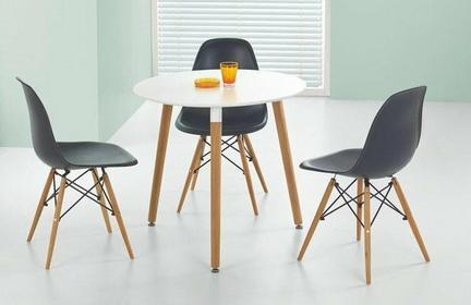 Halmar Zestaw Socrates stół OK + 3 krzesła K153