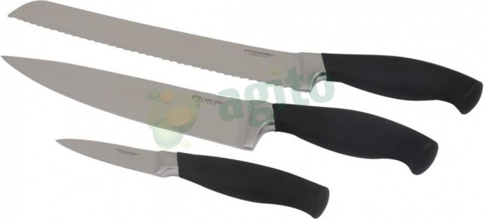 Fiskars Zestaw noży KUCHENNYCH 3szt. PRO Functional Form 102542