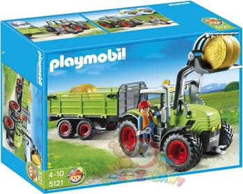 Playmobil Wielki traktor z przyczepą 5121