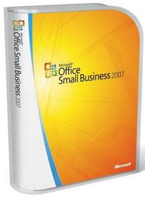 Microsoft Office 2007 Small Business (licencja)