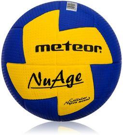 Meteor Markartur NuAge Woman Piłka ręczna Niebiesko-żółta Rozmiar 2