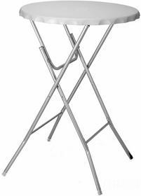 Składany stolik barowy, turystyczny - biały YK1290020