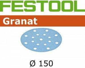 Festool Krążki ścierne STF D150/16 P80 GR/10